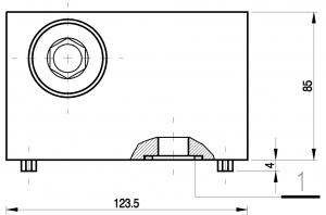 Плата UZFC16x (чертеж) Ponar