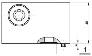 Плата UZFC6x (чертеж) Ponar