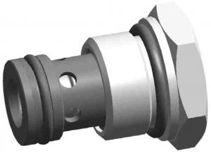 Картриджный обратный клапан UZZD6x Ponar