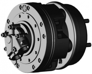Гидромотор серии p1+f30 SAI