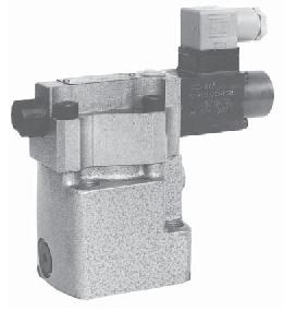 Предохранительный-редукционный пропорциональный клапан типа WZCPE10 Ponar