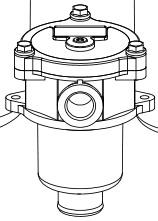Сливные фильры и фильтроэлемент MPF (чертежи) MP Filtri