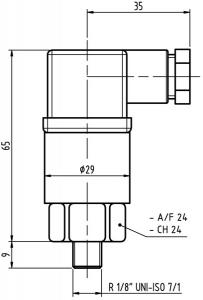 Индикаторы (чертежи): FX15R2M3  FX20R2M3 MP Filtri