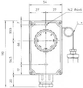Термостат TC2-L1000 EMMEGI