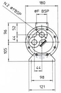 Водяные маслоохладители серия MGB140 EMMEGI
