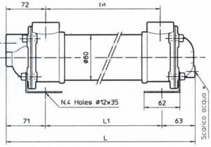 Водяные маслоохладители серия MG81 EMMEGI