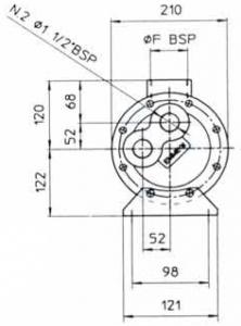 Водяные маслоохладители серия MGB168 EMMEGI