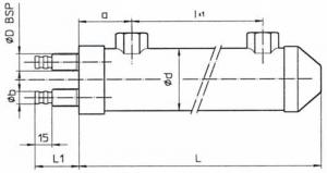 Водяные маслоохладители серия MGE60e80-2 EMMEGI
