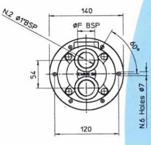 Водяные маслоохладители серия MGF80 EMMEGI