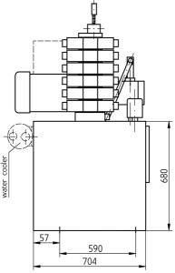 Гидравлические станции UHJV250x Ponar