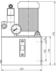 Гидравлические станции UHMZ5Hx Ponar