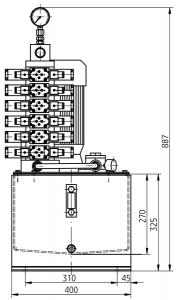 Гидравлические станции UHMZ25x Ponar