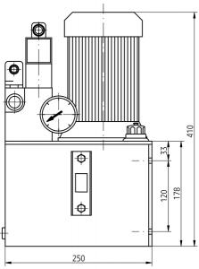 Гидравлические станции UHMZ5Jx Ponar