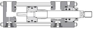 Гидроцилиндр серия CK Atos