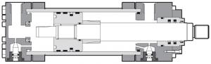 Гидроцилиндр серия CH (большие диаметры) Atos