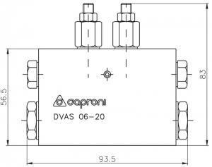 Осциллирующий распределитель Caproni Caproni