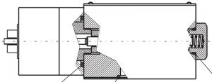 Распределители с пневматическим управлением RH06-6-F Caproni