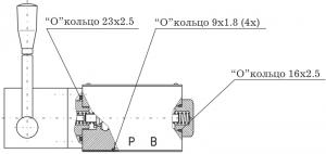 Распределители с ручным управлением RH06-7-F Caproni