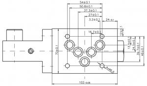 Распределители с ручным управлением RH10-7-F Caproni