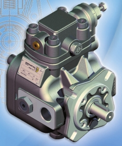 Пластинчатые насосы регулируемой производительности серии PHV (высокое давление) Berarma