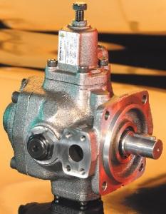 Пластинчатые насосы фиксируемой производительности серии PVS Berarma