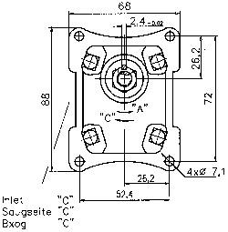 Caproni Шестеренные насосы 175 bar Caproni