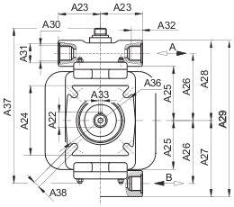 Аксиально-поршневые гидромоторы-насосы серия F2 HP