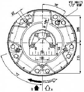 Гидромотор серии gm6 SAI