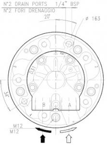 Гидромотор серии gm5a SAI
