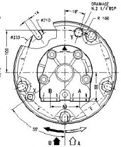Гидромотор серии gm1 SAI