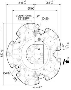 Гидромоторы серии L7B SAI