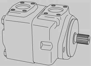 Пластинчатые моторы Vickers Vickers