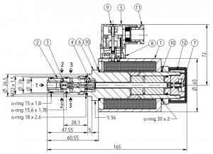 2х-позиционный искробезопасный распределитель PONAR типа 3IREH 6 Ponar