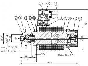 2х-позиционный искробезопасный распределитель PONAR типа 2IRED 6 Ponar