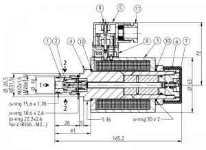 2х-позиционный искробезопасный распределитель PONAR типа 2IRES 6 Ponar