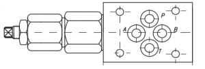 Предохранительные клапаны КР6 , КР10 Рmax=320 bar Caproni