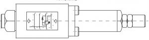 Редукционные клапаны KRT6M, KRT10M, KRT10P  Pmax=100 bar, Qmax=60 lmin Caproni