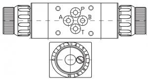 Регуляторы потока RD6, RD10, RD16 Р=320 bar, Q=80 lmin Caproni