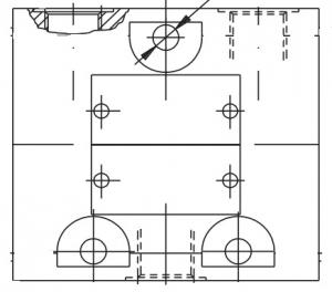 Делители потока KDS Pmax=320 bar, Qmax=150 lmin Caproni