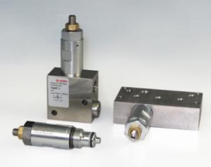 Предохранительные клапаны модульного монтажа DVM Bieri