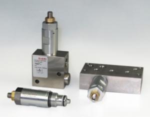 Картриджные предохранительные клапаны DVM Bieri