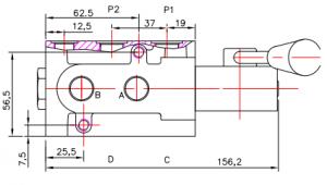 DVS6-62L-H P=315 bar, Q=50lpm Badestnost