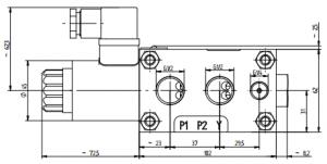 Распределитель секционный с электромагнитным управлением Ponar