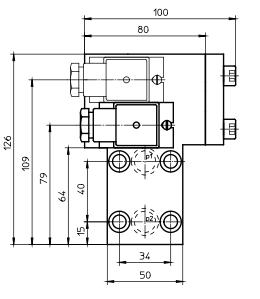 Серия - OPOE visual visual-electrical block execution Internormen